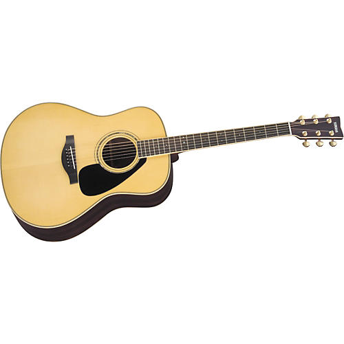 Yamaha L Series LL6 Dreadnought Acoustic Guitar Natural