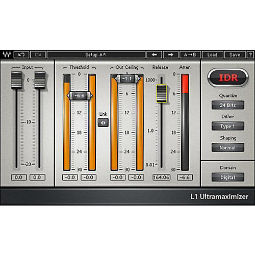 Waves L1 Ultramaximizer Native/TDM/SG Software Download-thumbnail