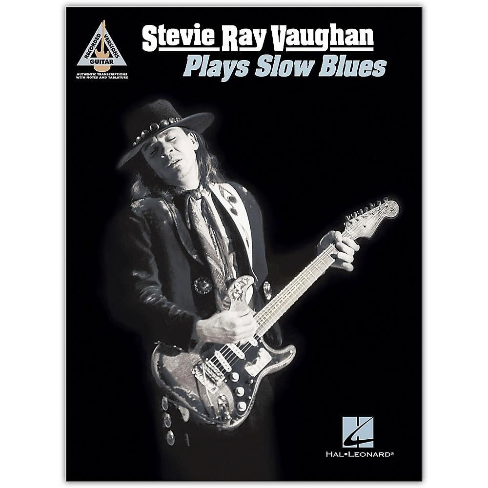 Hal Leonard Stevie Ray Vaughan - Plays Slow Blues Guitar Tab Songbook 1500000210352