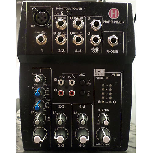 Harbinger L502 Unpowered Mixer-thumbnail