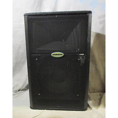 used samson l612m powered speaker guitar center. Black Bedroom Furniture Sets. Home Design Ideas