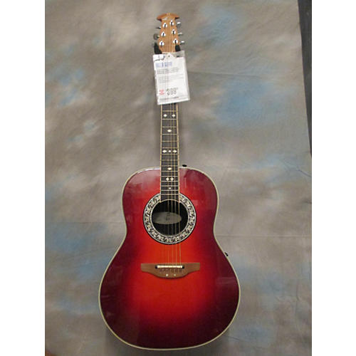 Ovation L717 Legend Acoustic Electric Guitar-thumbnail