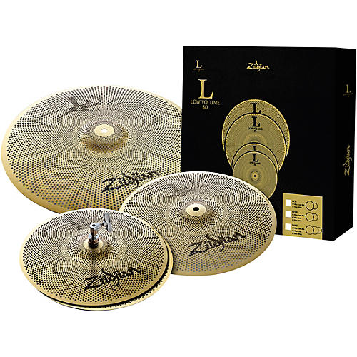 Zildjian L80 Series LV348 Low Volume Cymbal Box Set