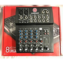 Harbinger L802 8-channel Compact Mixer Unpowered Mixer