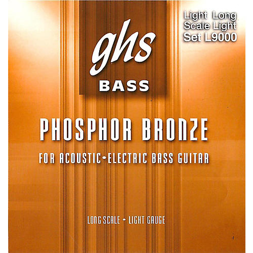 GHS L9000 Acoustic Bass Strings-thumbnail