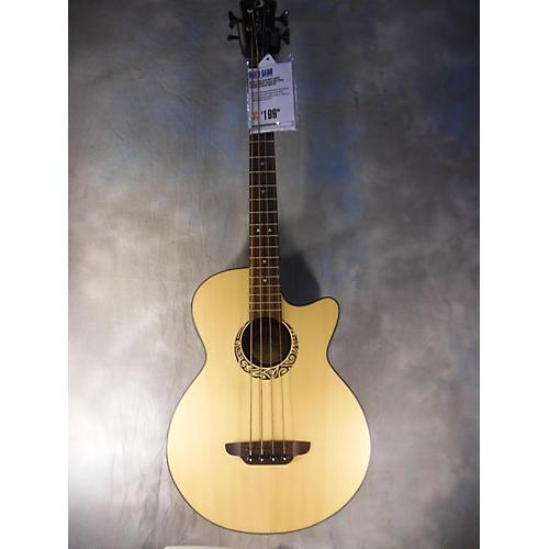 Luna Guitars LAB30 Tribal Short Scale Acoustic Bass Guitar