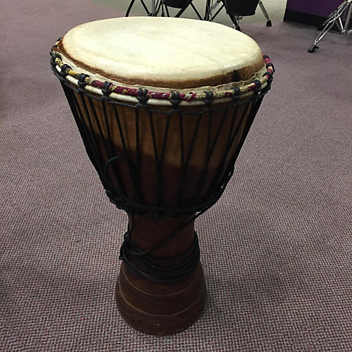 In Store Used LARGE BLACK Djembe-thumbnail