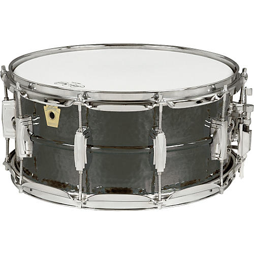 Ludwig LB419K Black Beauty with SS Snare-thumbnail