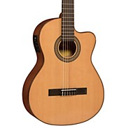 LC150Sce Spruce/Sapele Cutaway Acoustic-Electric Classical Guitar Natural