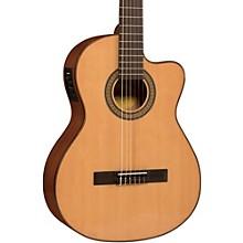 Lucero LC150Sce Spruce/Sapele Cutaway Acoustic-Electric Classical Guitar