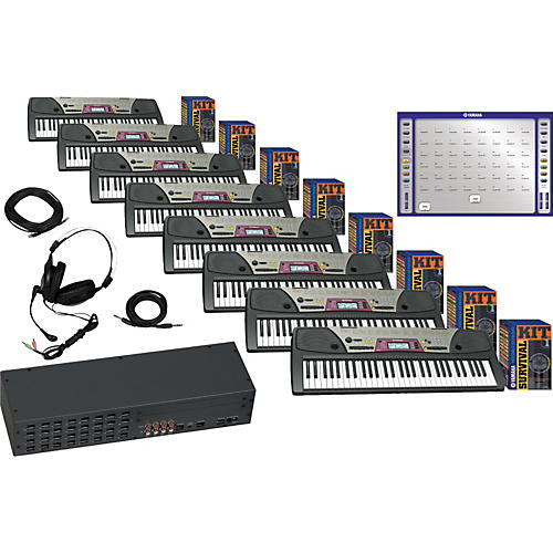 Yamaha LC2 Piano Lab with 8 PSR-172 Package