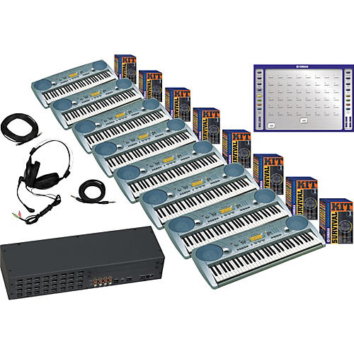 Yamaha LC2 Piano Lab with 8 PSR-273 Package-thumbnail
