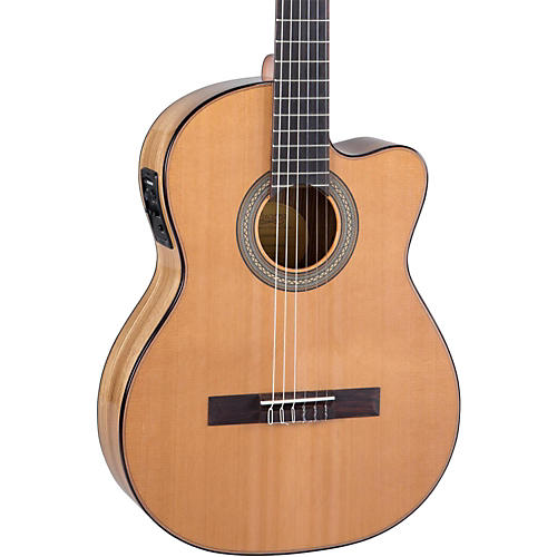 Lucero LC235SCE Acoustic-Electric Exotic Wood Classical Guitar-thumbnail
