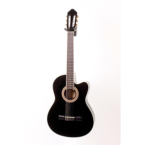 Lucero LCT250CE Thinline Cutaway Acoustic-Electric Classical Guitar-thumbnail