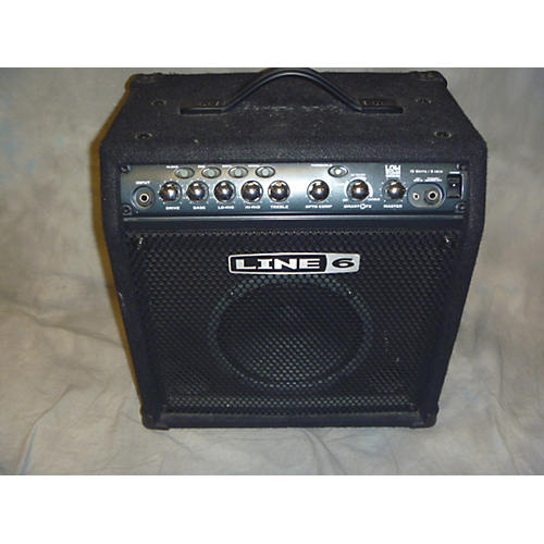 Line 6 LD15 Lowdown 15W 1X8 Bass Combo Amp-thumbnail