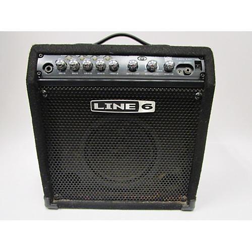 Line 6 LD15 Lowdown 15W 1X8 Bass Combo Amp-thumbnail