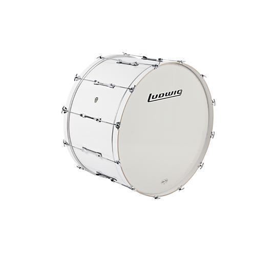 Ludwig LE-CB Bass Drum White 20x36