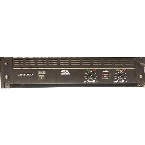 Seismic Audio LE3000 Power Amp-thumbnail