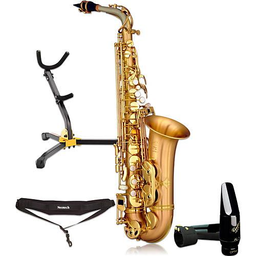 P. Mauriat LEBRAVO200A Intermediate Matte Finish Alto Saxophone Kit