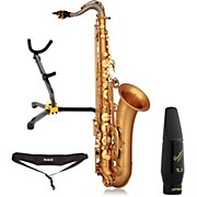 P. Mauriat LEBRAVO200T Intermediate Matte Finish Tenor Saxophone Kit