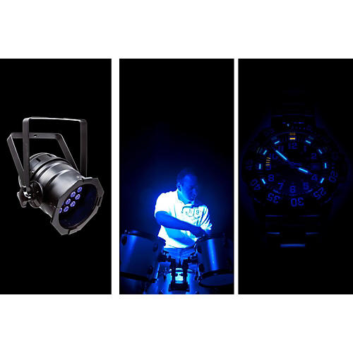 Chauvet LED PAR 38-18 UVB Black