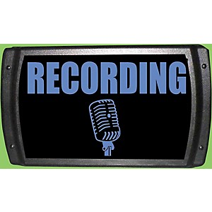 "American Recorder Technologies LED ""Recording"" Sign - Blue by American Recorder Technologies"