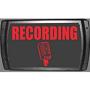 """American Recorder Technologies LED """"Recording"""" Sign - Red"""
