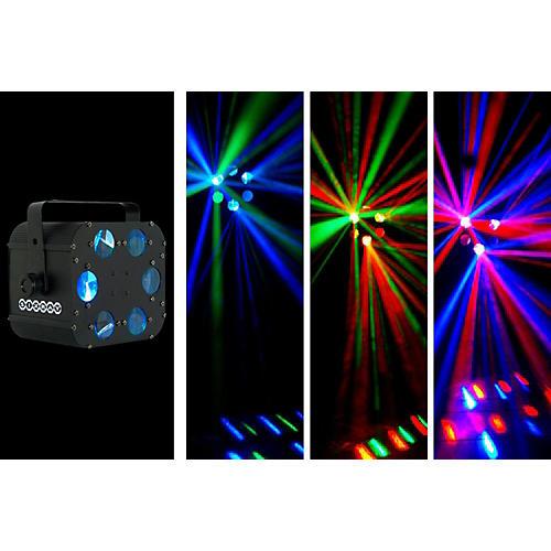 OmniSistem LED Sixray Light Effect Black