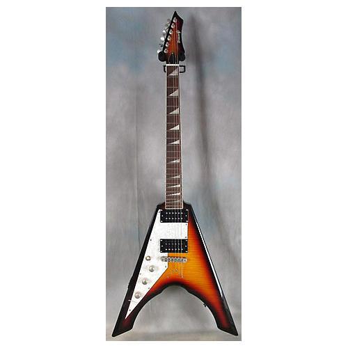 Brownsville LEFT HANDED Flying V Electric Guitar-thumbnail