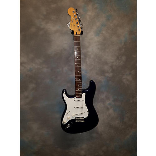 Fender LEFT HANDED STRATOCASTER Solid Body Electric Guitar Blue