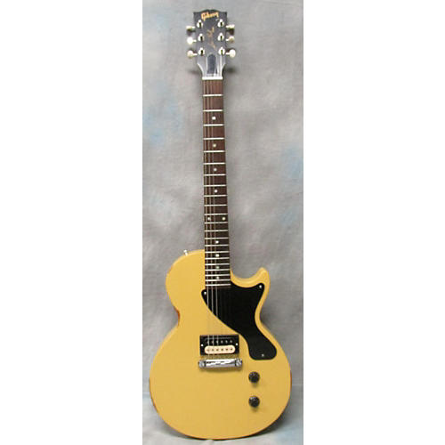 Gibson LES PAUL JUNIOR HUMBUCKER Solid Body Electric Guitar Worn TV Yellow
