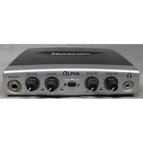 Lexicon LEXALPHAV Audio Interface-thumbnail