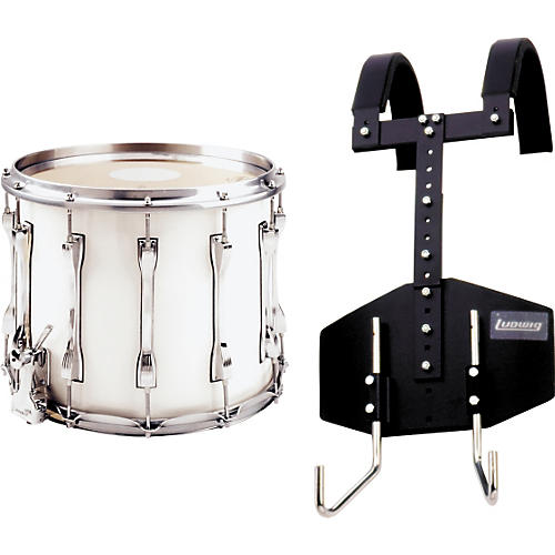 Ludwig LF-T124 Challenger Snare Drum with Omni-T Carrier-thumbnail