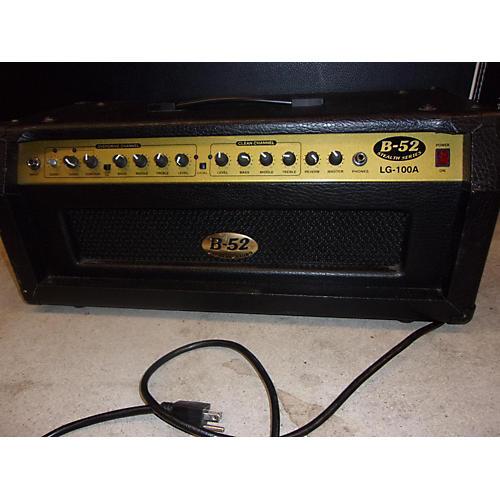 B-52 LG100A 100W Solid State Guitar Amp Head-thumbnail