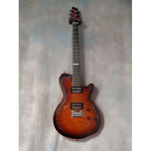 Godin LGXT AAA FLAME TOP Solid Body Electric Guitar