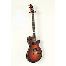 LGXT AAA Flamed Maple Top Electric Guitar Level 2 Cognac Burst 190839051967