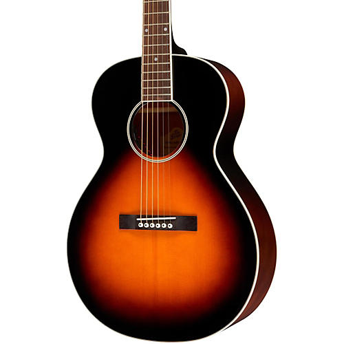 The Loar LH-200 Small Body Acoustic-Electric  Guitar Sunburst-thumbnail
