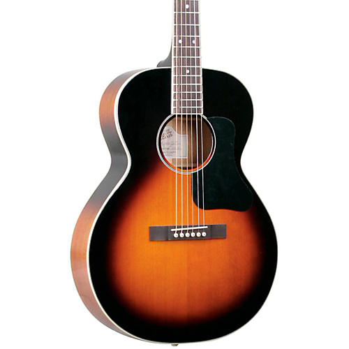 The Loar LH-200 Small-Body Acoustic Guitar Vintage Sunburst-thumbnail