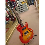 The Loar LH-302T Hollow Body Electric Guitar