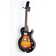 The Loar LH-304T Thinbody Archtop Cutway HH Electric Guitar