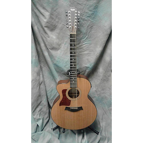 Taylor LH 355-CE 12 String Acoustic Electric Guitar-thumbnail