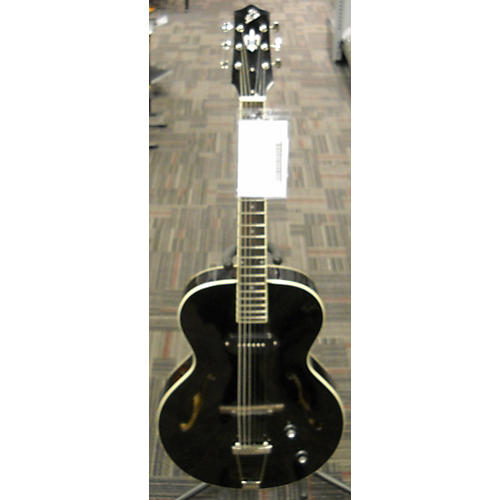 The Loar LH309BK Hollow Body Electric Guitar