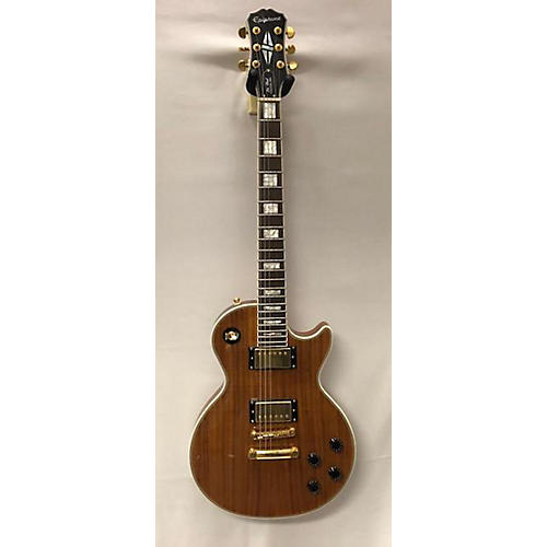 used epiphone limited edition les paul custom pro koa solid body electric guitar guitar center. Black Bedroom Furniture Sets. Home Design Ideas