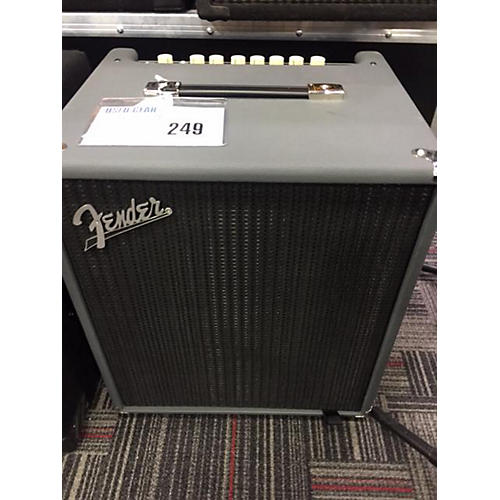 used fender limited edition rumble 100 bass combo amp guitar center. Black Bedroom Furniture Sets. Home Design Ideas