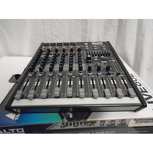 Alto LIVE 802 8-Channel 2-Bus Unpowered Mixer-thumbnail