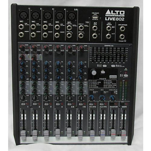 Alto LIVE 802 8-Channel 2-Bus Unpowered Mixer