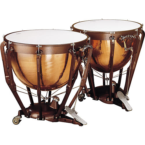 Ludwig LKP502KG Prof Hammered Copper Timp Set