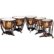 Ludwig LKP505PG Professional Polished Copper Timpani Set of 5