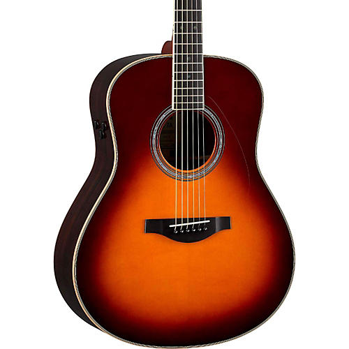 Yamaha LL-TA Transacoustic Jumbo Concert Acoustic-Electric Guitar Brown Sunburst