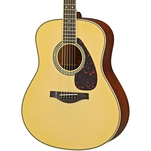 Yamaha LL16M L Series Solid Mahogany/Spruce Dreadnought Acoustic-Electric Guitar